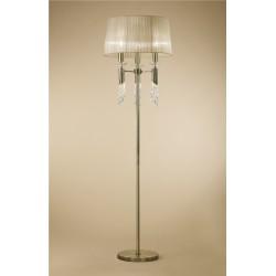 Lámpara de pie con pantalla clásica Tiffany