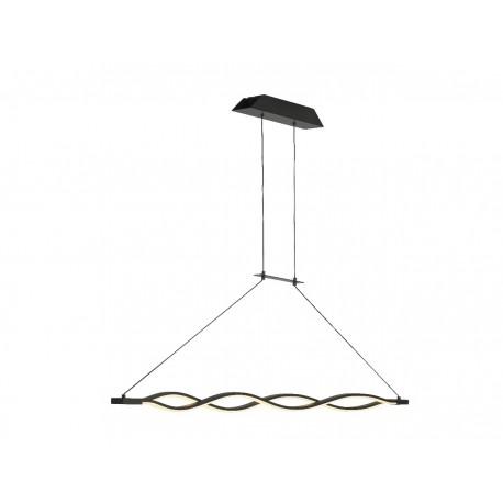 Lámpara de techo Led SAHARA (36W) Marrón
