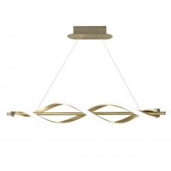 Lámpara Lineal Led cuero Stefany(35W)