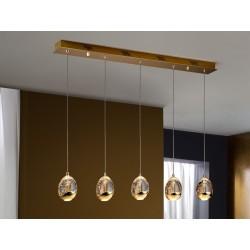 Lámpara de techo colgante clásica Rocio (25W)