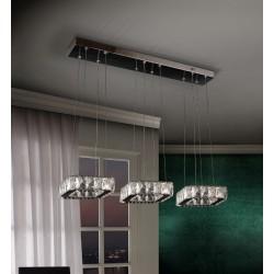 Lámpara de techo cristal DIVA (48W)