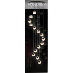 Lámpara de techo Led colgante para hueco de escalera SPHERE(42W)