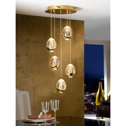 Lámpara de techo Rocío (25W)