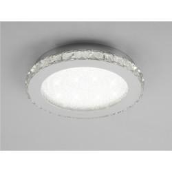 Plafón de techo Crystal Led (18W) Circular