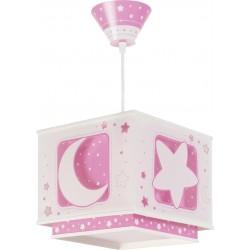 Lámpara colgante Lunas Rosa