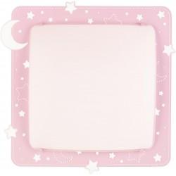 Plafón de techo infantil Lunas y Estrellas Rosa