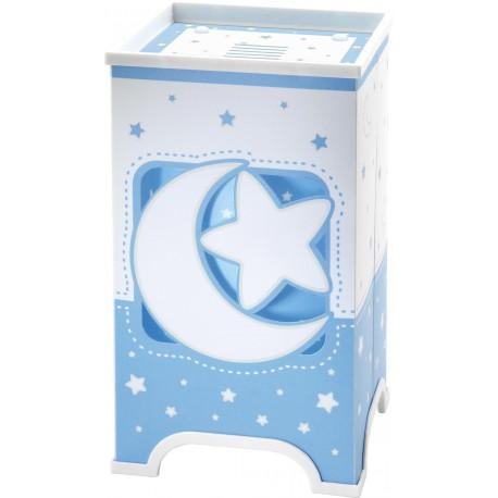 Sobremesa infantil Lunas y estrellas Azul