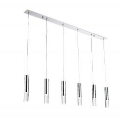 Lámpara de techo LED gotas de cristal (30W)