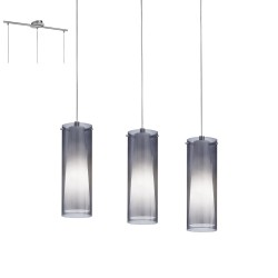 Lámpara de techo PINTO NERO 3 luces