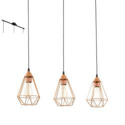 Lámpara colgante TARBES 3 luces
