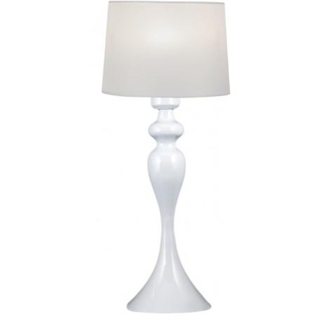 Lámpara de sobremesa Blanco ELEA
