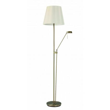 Lámpara de pie con Pantalla PALMA S (Acero,Cuero o Blanco)