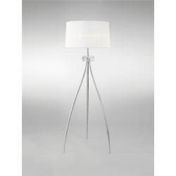 Lámpara de pie con pantalla estilo romántico LOEWE