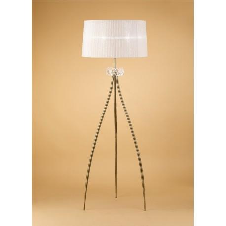 Lámpara de pie con pantalla clásica LOEWE