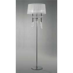Lámpara de pie con pantalla romántica Tiffany