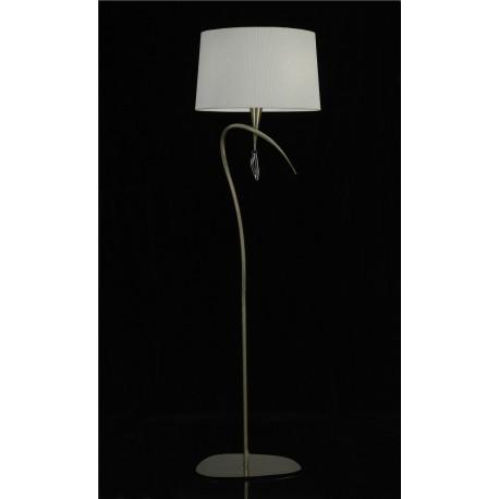 Lámpara de pie con pantalla clásica MARA