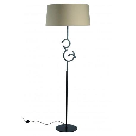 Lámpara de pie con pantalla rústica ARGI