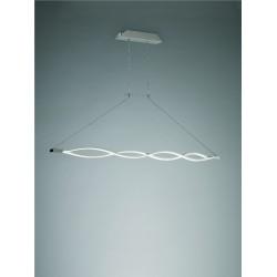 Lámpara de techo Led moderna SAHARA Plata