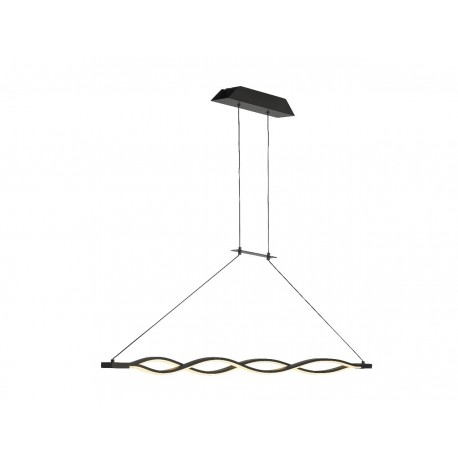 Lámpara de techo Led SAHARA XL Marrón (42W)