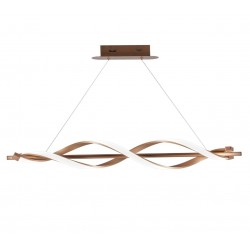 Lámpara de techo Led Cobre Stefany (35W)