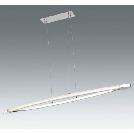 Lámpara de techo Led moderna para comedor (45W).Diseño santelices ...
