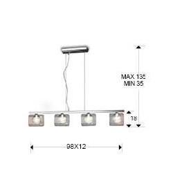 Lámpara de techo ECLIPSE