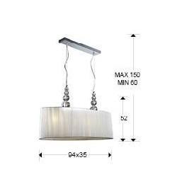 Lámpara de techo con pantalla MERCURY