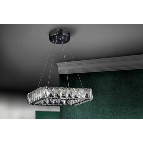 Lámpara de techo colgante cuadrada (24W)