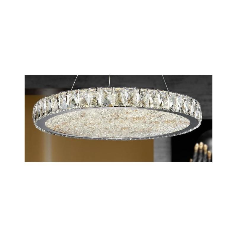 de Led Lámpara DANA techo en 56WSchuller cristal realizada Xn08wkPNO