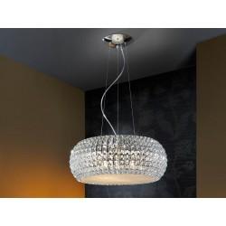 Lámpara de techo circular Led Diamond (54W)