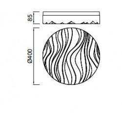 Plafón Led ARENA Circular