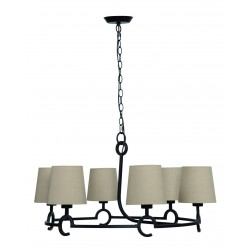Lámpara de techo con pantallas ARGI