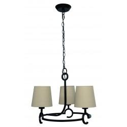 Lámpara de techo rústica ARGI