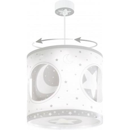 Lámpara colgante Lunas Gris circular