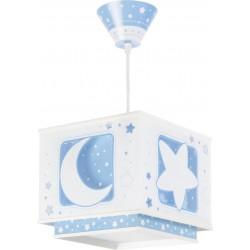Lámpara colgante Lunas Azul