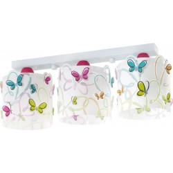 Regleta infantil 3 luces Butterfly-Mariposas