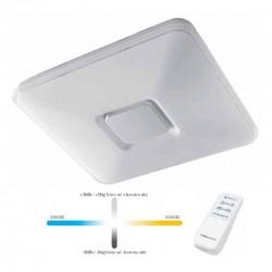 Plafón de techo LYNDAS (50W) con mando a distancia