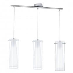 Lámpara colgante PINTO blanca 3 luces