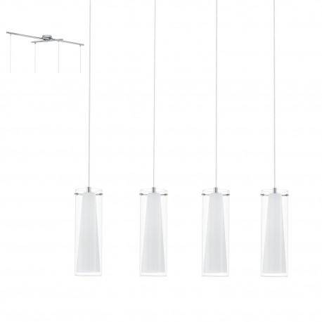 Lámpara de techo colgante PINTO 4 luces