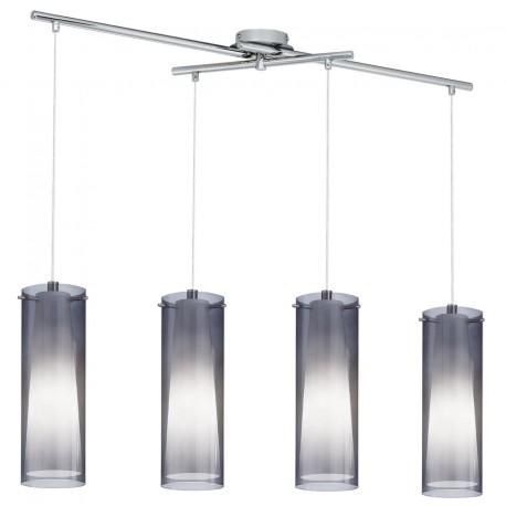 Lámpara de techo 4 luces PINTO NERO