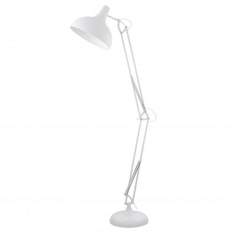 Lámpara de pie BORGILLO Blanca