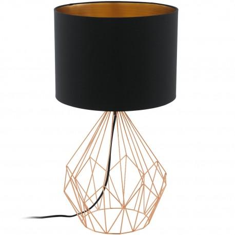 Lámpara de sobremesa PEDREGAL 1 Cobre