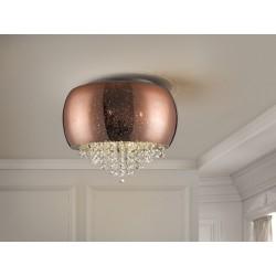 Plafón de techo Caelum Cobre (30W)