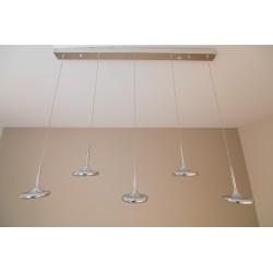 Lámpara LED Discos 5 luces