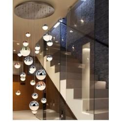 Lámpara de techo colgante Sphere 27 luces