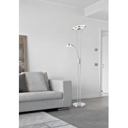 Lámpara de pie Led ANELLO (22W) + (5W)