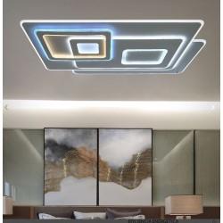 Plafón de techo Led (200W) RETRO RECTANGULAR
