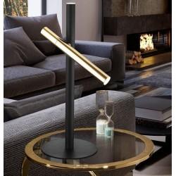 Lámpara de sobremesa VARAS (10W) Negro y Oro
