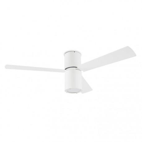 Ventilador de techo con luz FORMENTERA Blanco
