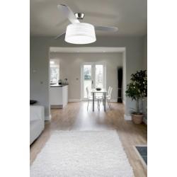 Ventilador de techo con luz y pantalla BELMONT